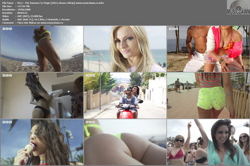 Nicci – The Summer Is Magic [2013, HD 1080p] Music Video
