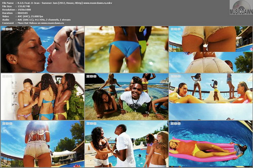 R.I.O. Feat. U-Jean – Summer Jam [2012, HD 1080p] Music Video