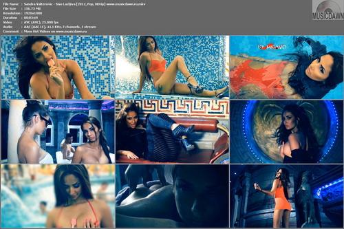 Sandra Valterovic – Siso Lazljiva [2012, HD 1080p] Music Video