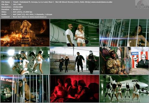 Timati & Timbaland ft. Grooya, La La Land, Max C – Not All About Money (Uncut) [2012, HD 1080p] Music Video