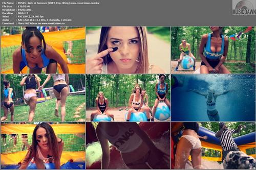 YONAS – Girls of Summer [2013, HD 1080p] Music Video