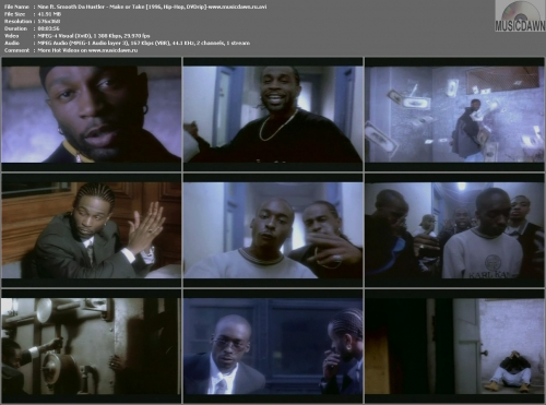 Nine ft. Smooth Da Hustler - Make or Take (1996, Hip-Hop, DVDrip)