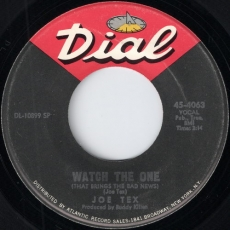 Joe Tex - Watch The One