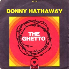Donny Hathaway - The Ghetto 7\'\' PS (Atco) \'1971