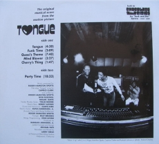 Roger Hamilton Spotts - Tongue OST 1975 Back Cover Art