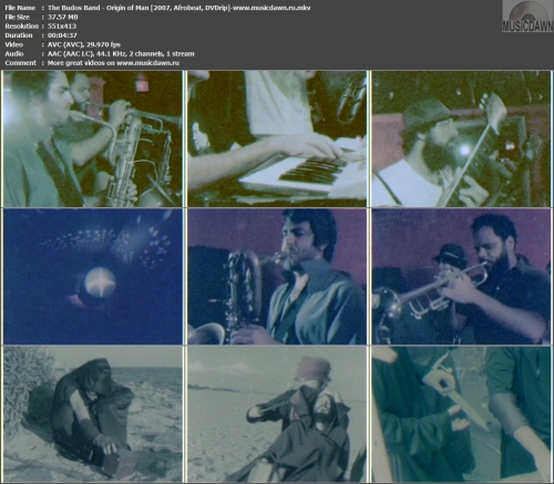 The Budos Band - Origin of Man (2007, Afrobeat, DVDrip)