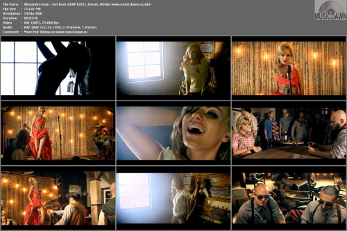 Alexandra Stan - Get Back ASAP (2011, House, HD 1080p)