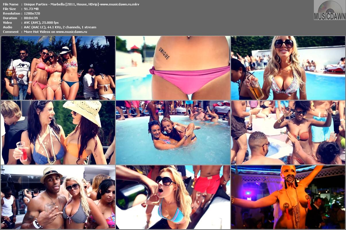 Unique Parties – Marbella (2011, HD 720p)