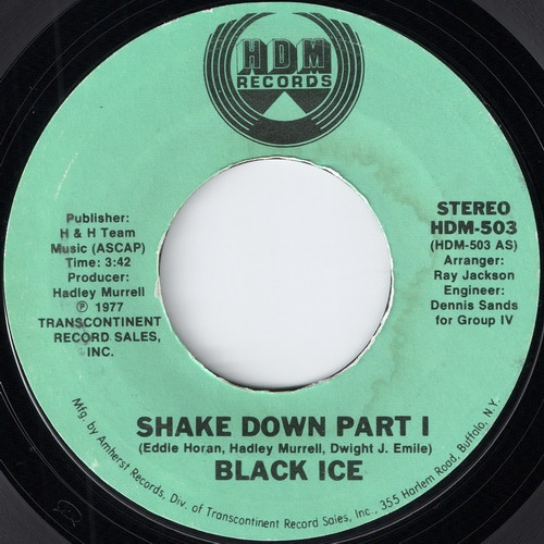 Black Ice - A - Shake Down Part I (HDM)
