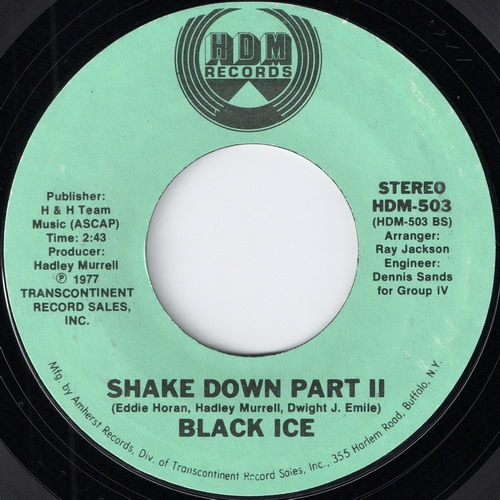 Black Ice - A - Shake Down Part II (HDM)