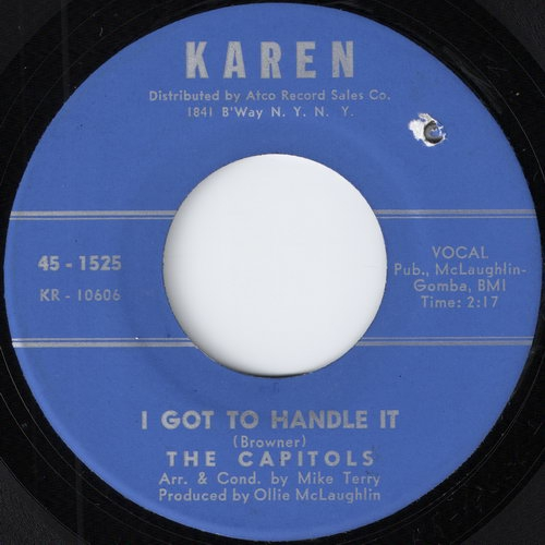 The Capitols - I Got To Handle It (Karen)