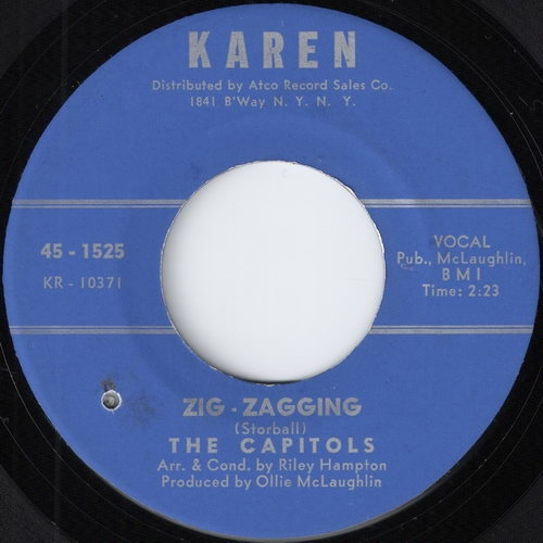 The Capitols - Zig-Zagging (Karen)