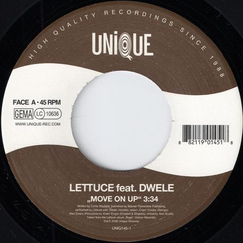 Lettuce feat. Dwelle - Move On Up (Unique)