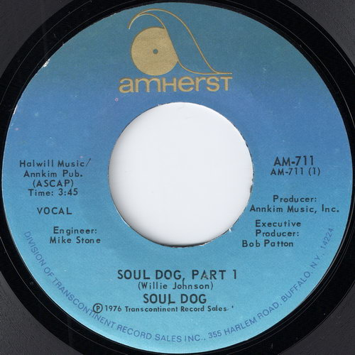 Soul Dog – Soul Dog Part 1 & 2 (Amherst) [7''] '1976