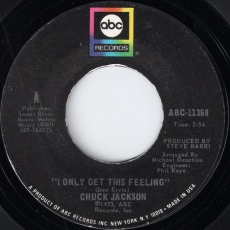 Chuck Jackson - I Only Get This Feeling (ABC)
