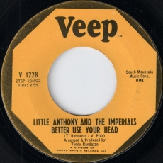 Little Anthony and the Imperials - Better Use Your Head (Veep)