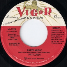 Pat Lundi - Party Music (Vigor)