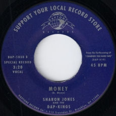 Sharon Jones And The Dap-Kings - Money (Daptone)