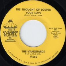 The Vanguards - The Thought Of Loosing Your Love (Lamp)