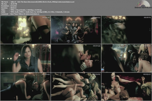 Julien-K - Kick The Bass (Uncensored) {2009, Electro Rock, DVDrip}