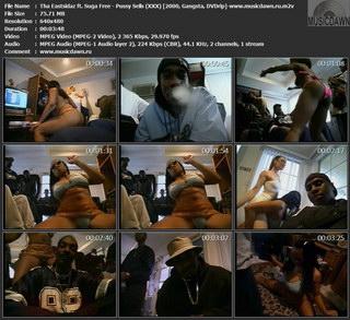 Tha Eastsidaz ft. Suga Free – Pussy Sells (XXX) [2000, DVDrip] Music Video