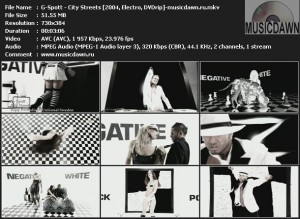G-Spott – City Streets [2004, DVDrip] Music Video