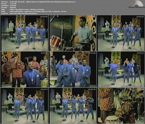 Archie Bell & The Drells – Tighten Up (Live on Upbeat!) [1968, VHSrip] Music Video
