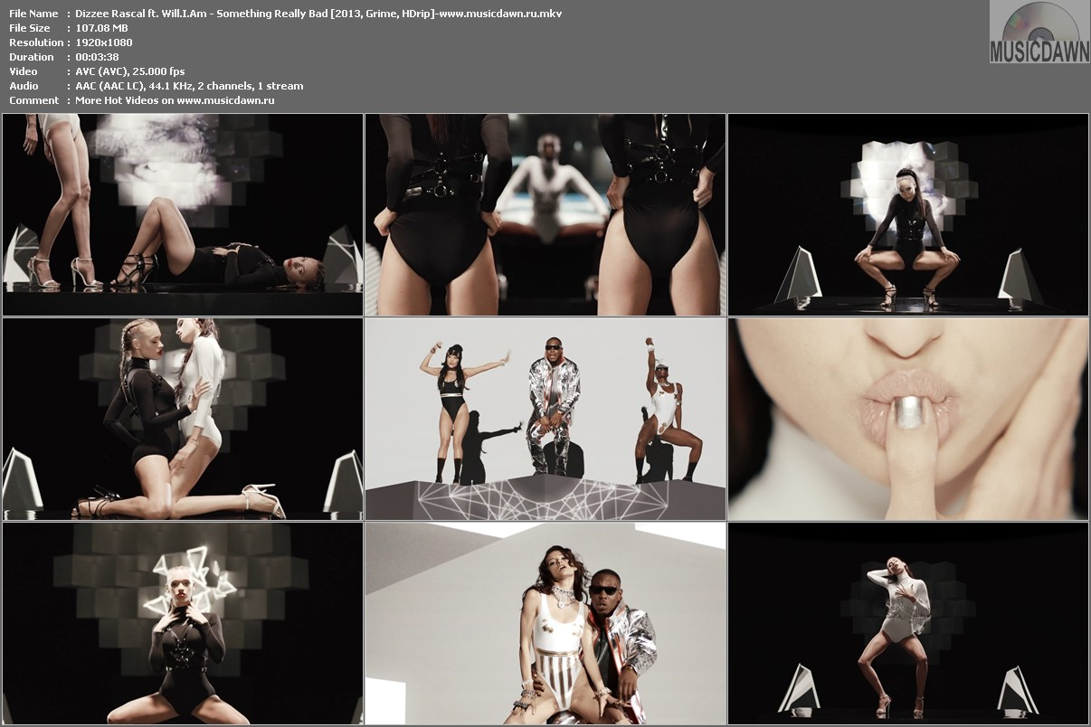 Dizzee Rascal ft. Will.I.Am - Something Really Bad [2013, Grime, HD 1080p]