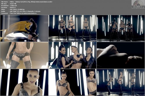 Nikita – Johnny Go! [2013, HD 720p] Music Video