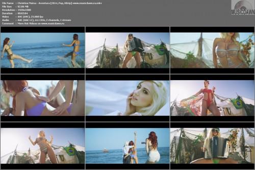 Christina Matsa – Aventura [2014, HD 1080p] Music Video
