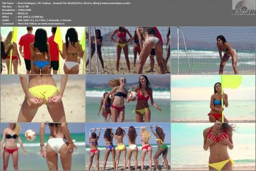 Rene Rodrigezz & MC Yankoo – Around The World [2014, HD 1080p] Music Video
