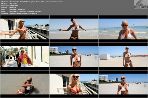 Liene Candy – Party Aint Over [2014, HD 1080p] Music Video