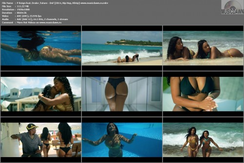 P Reign feat. Drake & Future – DnF [2014, HD 1080p] Music Video