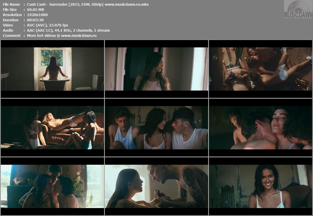 Cash Cash featuring Julia Michaels - Surrender HD Video