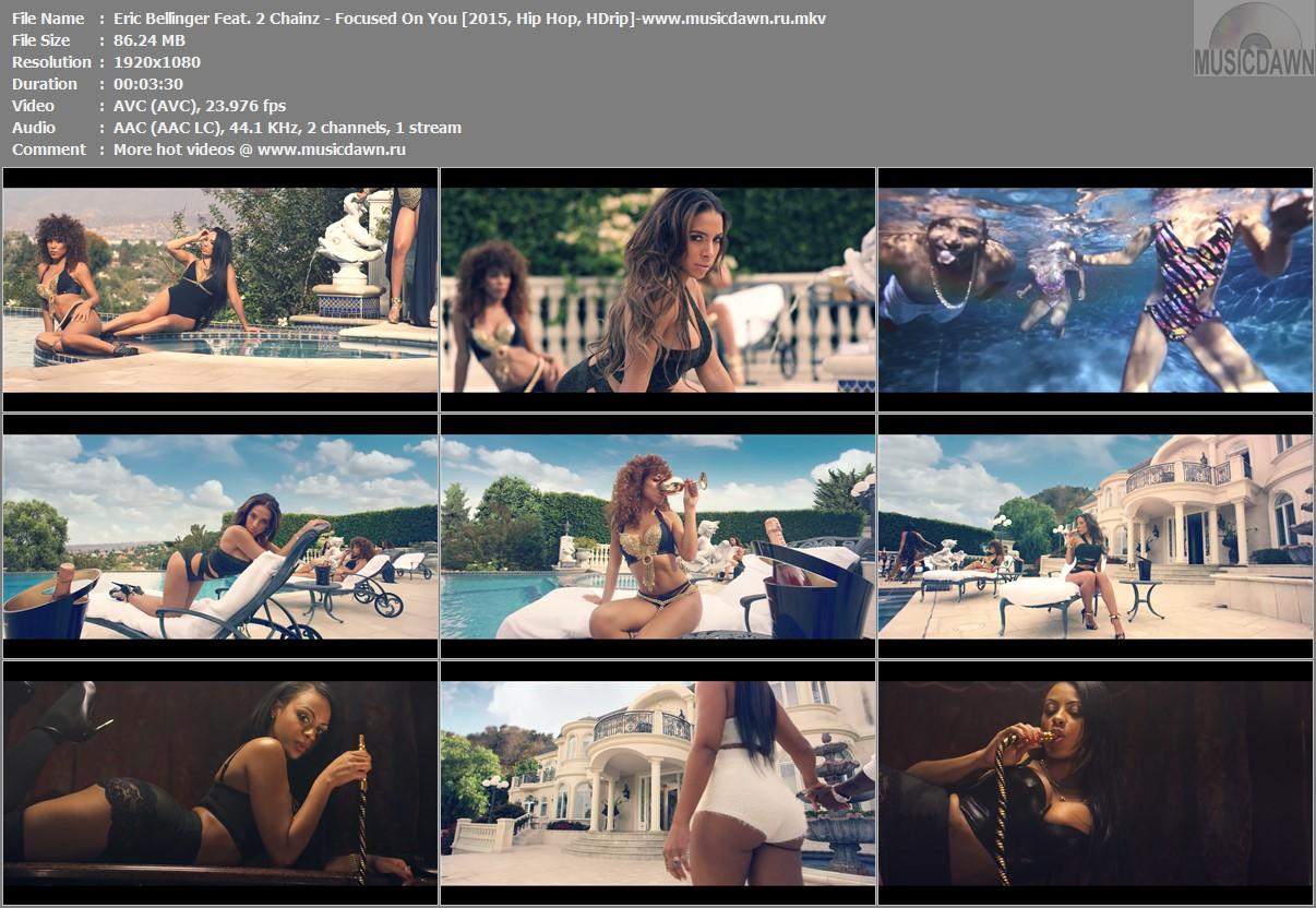 Клип Eric Bellinger Feat. 2 Chainz - Focused On You [2015, HD 1080p]