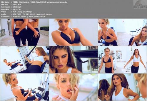 T.Mills – Lightweight [2012, HD 720p] Music Video