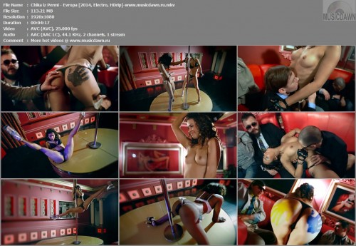 Чика из Перми – Европа / Chika iz Permi – Evropa (Uncensored) [2014, HD 1080p] Music Video