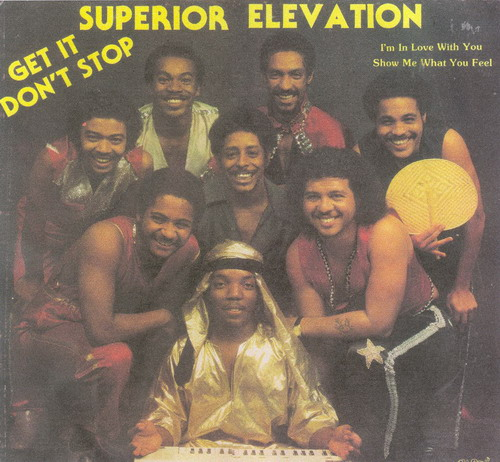 Superior Elevation - Get It Don't Stop (Black Satin LP 1982)