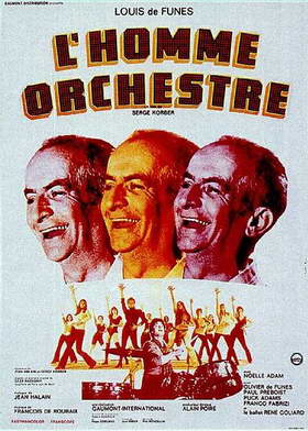 Lhomme Orchestre Poster 2